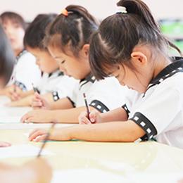 済美幼稚園のこどもたちの様子の写真